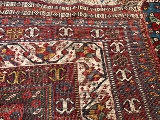 "Khamseh rug in very good condition . 8'8"" x 5'7""."