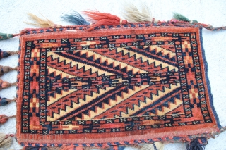 Yomud Spindeltasche, size 0,43 x 0,27 m,