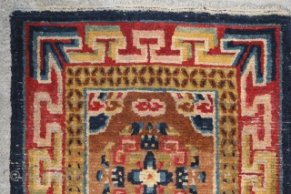 Colorful Tibetan good condition size:57 x 51 cm