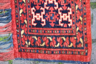 Ersari Beshir aksu design 1,33 x 0,45 m, excellent condition
