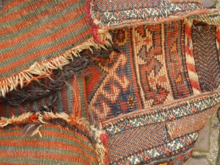 atractive Qasqai Luri bag, natural colours, some traces of use, clean and handwashed