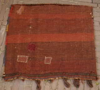 Cloud band khamseh bag, natural colours, soft wool, pliable, full pile, a beauty!