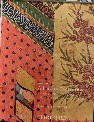20 Christie's London Islamic art catalogs. All in great condition