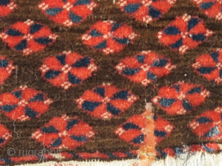 Very Soft Tekke Ensi, good colors, classic drawing with exceptionally good wool.