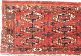 12 gul Tekke torba, rich velvety wool
