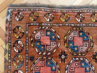 Antique 19 Century Ersari or Uzbek Rug, All Wool, All Vegetable Colors, 96 cm x 126 cm , Available for $ 450, bz@magnet.ch or whatsapp: +41 79 439 40 41, Bernard Zarnegin,  ...