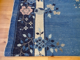 ORIGINAL ANTIQUE FINEST 1900's PALACE PEKING IN GREAT CONDITION FINE CARPET 9'11 x 16'2