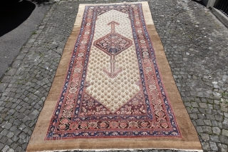 Online Auction ends this Sunday 4th of June, Antique Camel Hair NW Carpet