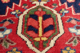 Antique All Wool and All Organic Bidjar Gerrus, ah yes it has original endings , selvages and mint pile and it is xxl 5'1 x 14'0, starting at $ 1, good luck  ...