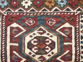 Shasavan pile bagface, 41 x 52 cm, Excellent natural dyes.