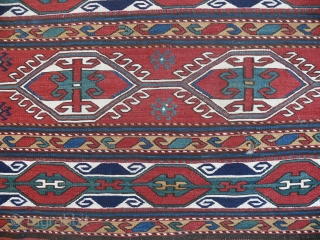 Shasavan soumac, mafrash side panel, excellent condition, 19th c.