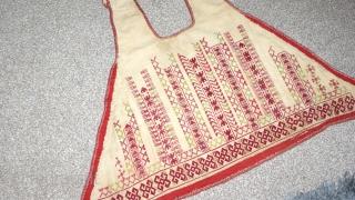 Beautiful 19th century Antique Uzbek (Karakalpak Kimishek white oldi) silk embroidery. Excellent natural colours and stitches. Rare piece. Offer reasonable price.
