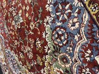 Beautiful Antique Russian? carpet, excellent colours. The size is 220cm by 160cm. More images pls mail me.