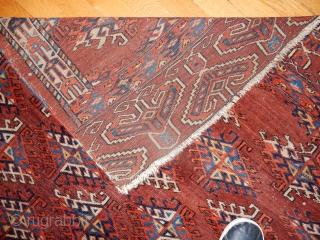 YOMUD YOMUT SMALL CARPET- GOOD SKIRT DESIGN- ESTATE RUG-  SIZE 5 X 6 FEET