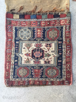 19th century Soumac bag. SOLD