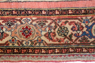 Antique Bijar on wool foundation, just the very finest of the type I encountered in 40 years! 138 x 212 cm High pile in general. Reinforced foundation to center. Wear to last  ...