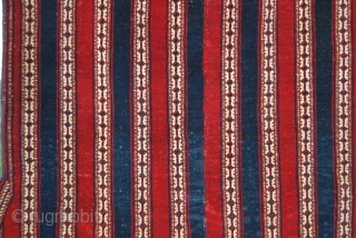 Goklan Yomut of Northern Persia horse blanket. Cm 125x135 ca. Late 19th or very early 20th c. Red, blue, green, white….beautiful, elegant, great, natural dyes. Very fine weaving, roughly half a million  ...