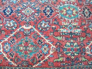 Mahal muskabat rug 3,75*4,75 good condition decorative