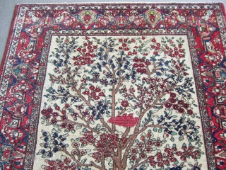 Isfahan rug 1,42*2,00 Good condition