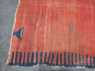 West Anatolian kilim fragment Size=150x106 cm