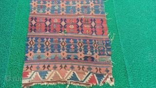 Turkish anatolian sivas area kilim rug Size=247x77 cm