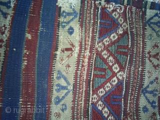 Balikesir Chuval Kelim % 100 vegetable colors  size: 220*61 cm FREE SHIPPING