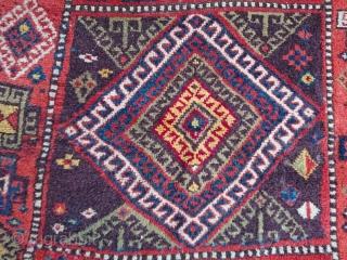 East Anatolian Kurdish Runner Rug Size=360x103cm