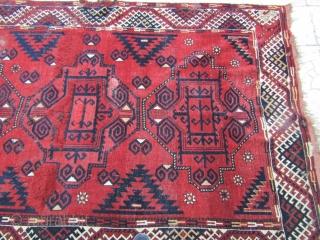 Turkmen rug frakment size=210x157