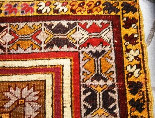 Anatolian Mucur rug. Some synthetic color  95cm x 135cm