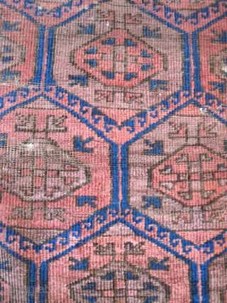 Baluch - Pomegranates in lattice?