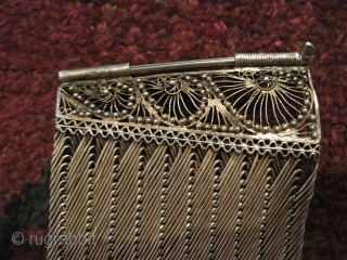 Ottoman era bracelets of woven silver. There's a name for this silver technique, but I don't remember what it is.