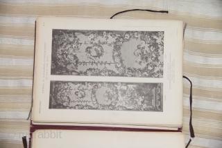 Etoffes et tapisseries d'ameublement des XVII et XVIII siècles. H. Dumonthier 79 plates, miss N° 41