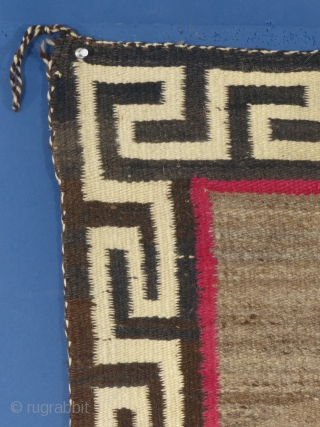 "Large Navajo Pictorial Weaving, c. 1920-40, Excellent Condition with one very small hole, Measures 78"" X 50""