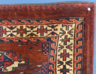This is an Antique Turkoman Juval.