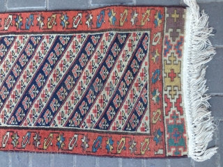 Kurdish fragment antiqe  size:345x46-cm ask