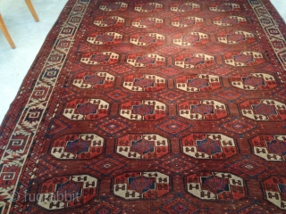 Yomud Rug size : 200x343-cm need to wash good price ask