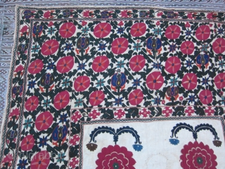 antique suzani size:248x158-cm / 97.6x62.2-inches Contact me for more photos