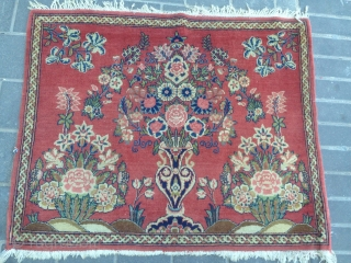 Persian kashan 2 pices size:87x72-cm good price ask