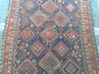 Persian Shiraz or Kashkai size: 205x155-cm please ask