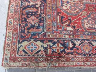 heriz rug size:340x253-cm good price