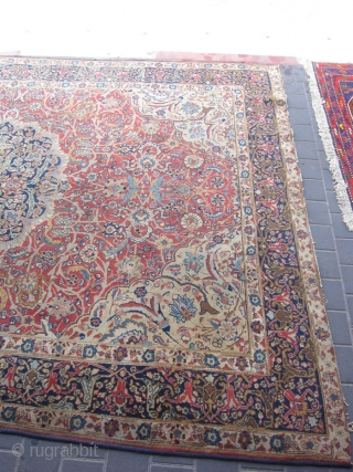 tabriz persian rug size:332x240-cm / 130.7x94.4-inches please ask