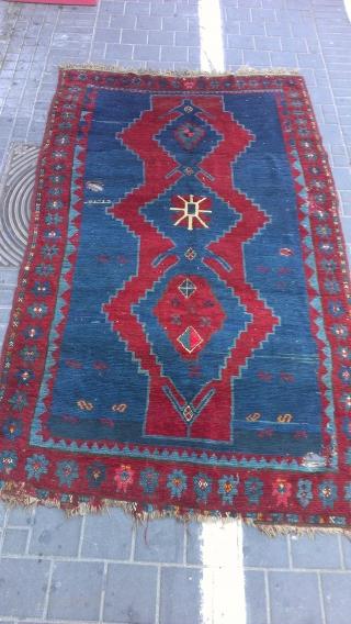 Caucasian rug size:220x130-cm. Aak