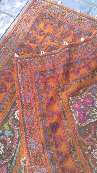 Kerman embroidered size: 260x88-cm. Ask