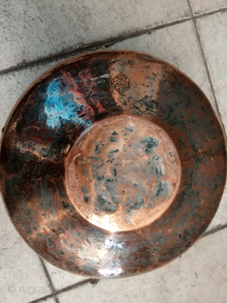 Brass old yazd persian size:26x13-cm please ask