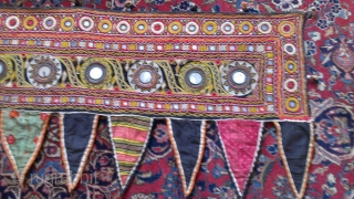 Rabari Toran From Kutch Gujarat India Size 113x44-cm.   Ask  free shipping.
