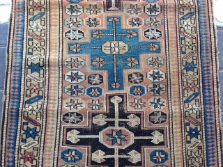 Caucasian rug size :110x72-cm free shipping please ask