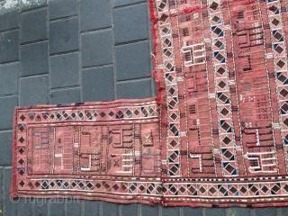 Caucasian antique horse cover size:158x134-cm ask