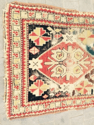Caucasian prayer antiqe mint condition size:128x81-cm good price ask