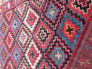 Kurdish rug  size: 205x116-cm ask