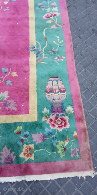Chinese art Deco carpet size:350x260-cm ask